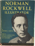 Autographs:Artists, Norman Rockwell Signed Book with Caricature, Norman RockwellIllustrator, by Arthur L. Guptill (New York: Watson...