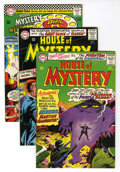 Silver Age (1956-1969):Horror, House of Mystery Group (DC, 1965-67) Condition: Average VF+....(Total: 10 Comic Books)