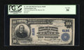 National Bank Notes:Pennsylvania, Beaver, PA - $10 1902 Plain Back Fr. 625 The Fort McIntosh NB Ch. #8185. ...