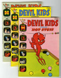 Bronze Age (1970-1979):Cartoon Character, Devil Kids Starring Hot Stuff File Copy Group (Harvey, 1970-80) Condition: Average NM-.... (Total: 10 Comic Books)