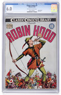 Golden Age (1938-1955):Classics Illustrated, Classic Comics #7 Robin Hood - Original Edition (Gilberton, 1942)CGC FN 6.0 Off-white to white pages....