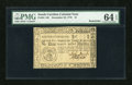 Colonial Notes:South Carolina, South Carolina December 23, 1776 $1 PMG Choice Uncirculated 64EPQ....