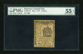 Colonial Notes:Delaware, Delaware May 1, 1777 4d PMG About Uncirculated 55 EPQ....