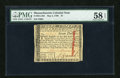Colonial Notes:Massachusetts, Massachusetts May 5, 1780 $7 PMG Choice About Unc 58 EPQ....