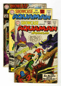 Silver Age (1956-1969):Miscellaneous, Showcase #31 - 33 Aquaman Group (DC, 1961) Condition: AverageVG-.... (Total: 3 Items)