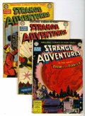 Golden Age (1938-1955):Science Fiction, Strange Adventures Group (DC, 1950-51).... (Total: 6 Comic Books)