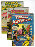 Golden Age (1938-1955):Science Fiction, Strange Adventures #41, 42, and 46 Group (DC, 1954) Condition:Average VG+.... (Total: 3 Comic Books)