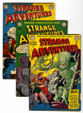 Golden Age (1938-1955):Science Fiction, Strange Adventures Group (DC, 1951) Condition: Average GD....(Total: 7 Comic Books)