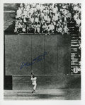 "Autographs:Photos, Willie Mays Signed 8"" x 10"" Photograph ""The Catch""...."