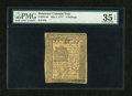 Colonial Notes:Delaware, Delaware May 1, 1777 4s PMG Choice Very Fine 35 EPQ....