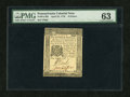 Colonial Notes:Pennsylvania, Pennsylvania April 25, 1776 18d PMG Choice Uncirculated 63....