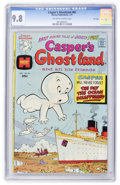 Bronze Age (1970-1979):Cartoon Character, Casper's Ghostland #82 File Copy (Harvey, 1975) CGC NM/MT 9.8Off-white to white pages....
