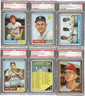 Baseball Cards:Lots, 1961 & 1962 Topps Baseball Collection (118)....