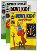 Silver Age (1956-1969):Cartoon Character, Devil Kids Starring Hot Stuff #18, 20, and 22 File Copy Group (Harvey, 1965-66) Condition: Average NM-.... (Total: 3 Comic Books)
