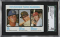 Baseball Cards:Singles (1970-Now), 1973 Topps Baseball #615 Mike Schmidt/Ron Cey Rookie SGC 96 MINT 9....