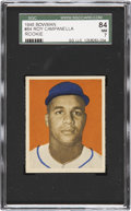 Baseball Cards:Singles (1940-1949), 1949 Bowman Roy Campanella #84 SGC 84 NM 7....