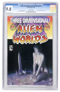 Modern Age (1980-Present):Science Fiction, Alien Worlds 3-D #1 (Pacific Comics, 1984) CGC NM/MT 9.8 Whitepages....