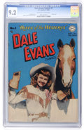 Golden Age (1938-1955):Western, Dale Evans Comics #1 (DC, 1948) CGC NM- 9.2 Off-white to whitepages....