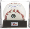 Autographs:Baseballs, Willie Mays Single Signed Baseball PSA Gem Mint 10....