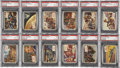 "Non-Sport Cards:Sets, 1954 Topps ""Scoop"" PSA-Graded Partial Set (73/156)...."