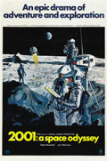 "Movie Posters:Science Fiction, 2001: A Space Odyssey (MGM, 1968). One Sheet (27"" X 41"") Style B...."