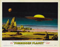 "Movie Posters:Science Fiction, Forbidden Planet (MGM, 1956). Lobby Card (11"" X 14"")...."
