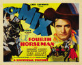 "Movie Posters:Western, The Fourth Horseman (Universal, 1932). Title Lobby Card (11"" X14""). ..."