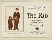 "The Kid (First National, 1921). Lobby Card (11"" X 14"")"
