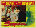 "Movie Posters:Hitchcock, Suspicion (RKO, 1941). Lobby Card (11"" X 14"")...."