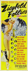 "Movie Posters:Musical, Ziegfeld Follies (MGM, 1946). Insert (14"" X 36""). ..."