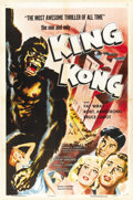 "Movie Posters:Horror, King Kong (RKO, R-1956). One Sheet (27"" X 41""). ..."