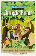 "Movie Posters:Animated, The Jungle Book (Buena Vista, 1967). One Sheet (27"" X 41""). ..."