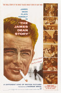 "Movie Posters:Documentary, The James Dean Story (Warner Brothers, 1957). One Sheet (27"" X 41""). ..."
