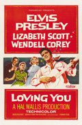 """Movie Posters:Elvis Presley, Loving You (Paramount, 1957). One Sheet (27"""" X 41""""). ..."""