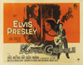 "Movie Posters:Elvis Presley, King Creole (Paramount, 1958). Half Sheet (22"" X 28""). Style B. ..."