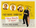 "Movie Posters:Comedy, That Touch of Mink (Universal, 1962). Half Sheet (22"" X 28""). ..."