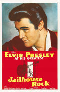 "Movie Posters:Elvis Presley, Jailhouse Rock (MGM, 1957). One Sheet (27"" X 41"")...."