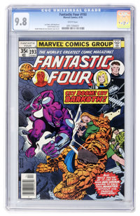 Fantastic Four #193 (Marvel, 1978) CGC NM/MT 9.8 White pages
