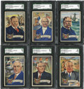 "Non-Sport Cards:General, 1952 Bowman ""U.S. Presidents"" Complete Set (36). ..."