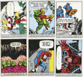 "Non-Sport Cards:General, 1966 Donruss ""Marvel Superheroes"" Complete Set (66). ..."