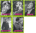 "Non-Sport Cards:General, 1969 Philadelphia Gum ""Dark Shadows"" Group of (28) Plus PaperRetailer Poster. ..."
