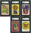 Non-Sport Cards:General, 1965 Topps Monster Greetings High Grade Complete Set (50). ...
