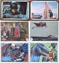 Non-Sport Cards:General, 1966 Topps Batman Collection of Series B, Batt Laffs and RiddlerBacks (112). ...