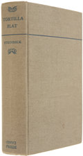 Books:Signed Editions, John Steinbeck. Tortilla Flat. New York: Covici-Friede, [1936].. First edition, seventh printing. Inscribed ...
