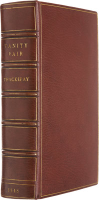 William Makepeace Thackeray. Vanity Fair. A Novel Without a Hero. With illustrations on steel a