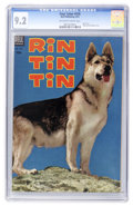 Golden Age (1938-1955):Adventure, Four Color #476 Rin Tin Tin (Dell, 1953) CGC NM- 9.2 Off-white to white pages....