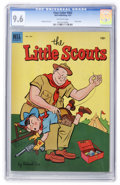 Golden Age (1938-1955):Humor, Four Color #462 Little Scouts (Dell, 1953) CGC NM+ 9.6 Off-white pages....