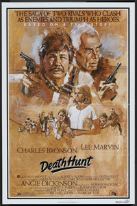 "Death Hunt (20th Century Fox, 1981). One Sheet (27"" X 41""). Action"