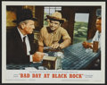 "Movie Posters:Thriller, Bad Day at Black Rock (MGM, R-1962). Lobby Card Set of 8 (11"" X 14""). Thriller.. ... (Total: 8 Items)"