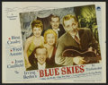 "Movie Posters:Musical, Blue Skies (Paramount, 1946). Lobby Card Set of 8 (11"" X 14""). Musical.. ... (Total: 8 Items)"